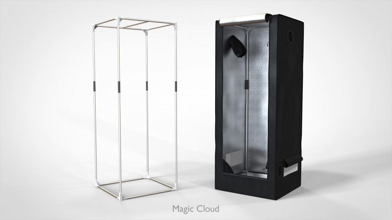 Гроубокс Magic Cloud MagicBox 60х60х160 см
